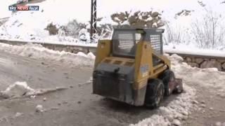 لبنان.. تساقط الثلوج ينعش السياحة الشتوية