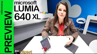 Microsoft Lumia 640 XL preview #MWC15 en español