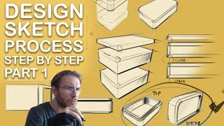 Industrial Design Sketch Process Part 01/03