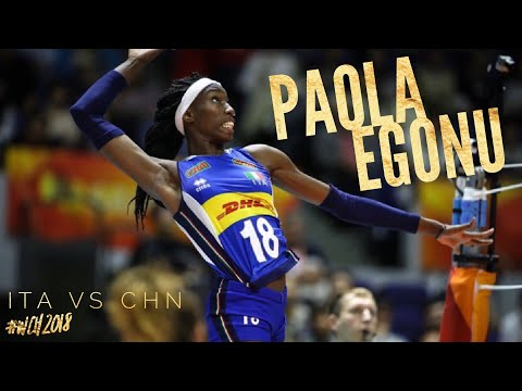 Paola Egonu ;Top score of the match ITA VS CHN 29 POINTS WCH2018 HIGHLIGHTS