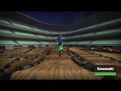 2017 Kawasaki Track Map Round 3 Anaheim