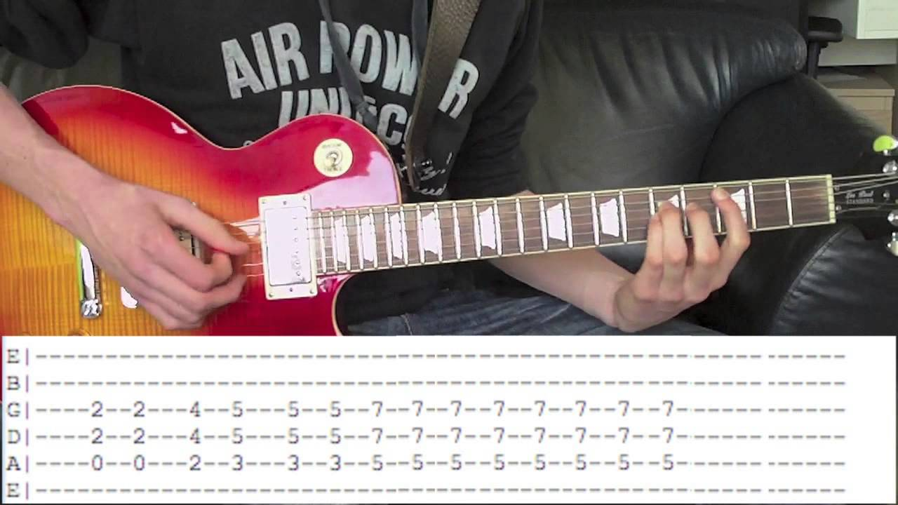Guns Nu0026#39;Roses - Sweet Child Ou0026#39; Mine Guitar Lesson With Tabs Download! - YouTube