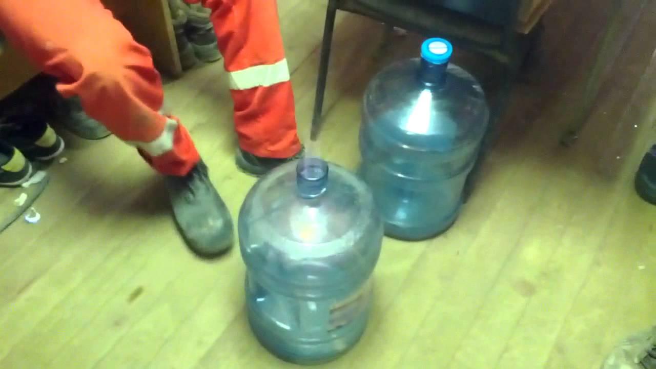 Поделки из 19 литровой бутылки 55