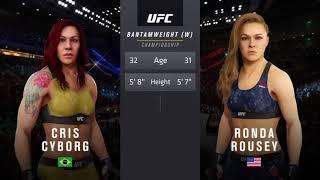 Ea Sports UFC 3 Cyborg vs Rousey