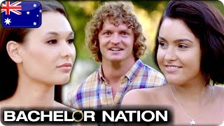 Vanessa Sunshine Smashes Her Way To A Date | The Bachelor Australia