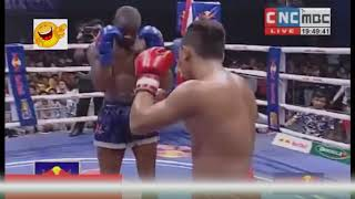 Roeung Sophorn vs CurtisEng, Khmer International Boxing , Kun Khmer vs Muay Thai