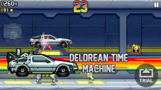 jetpack joyride/Back to the Future