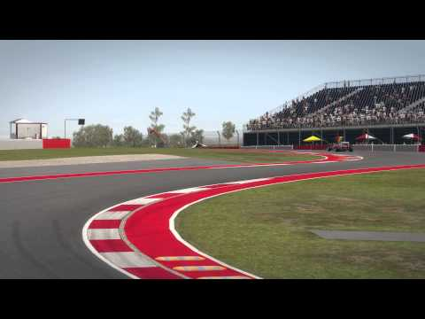 Codemasters F1 2013 – Circuit of the Americas