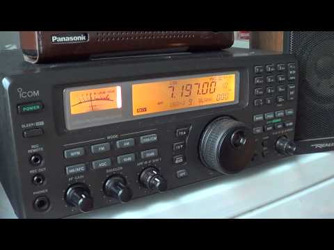 40 meters amateur radio scanning dec 2nd 2012