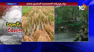 Pethai Toofan Live Updates From Vijayawada | Heavy Rains In AP