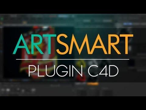 LINK ARREGLADO! ¡Nuevo & Excelente Plugin! ArtSmart Para Cinema 4D R13 & R14 | Funciones