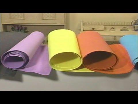 Clique e veja o vídeo Artesanato em Borracha EVA - Borracha EVA