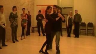 Angentine Tango - Leg Wrap Demo