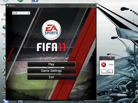 How to fix FIFA 11 E0001 ERROR