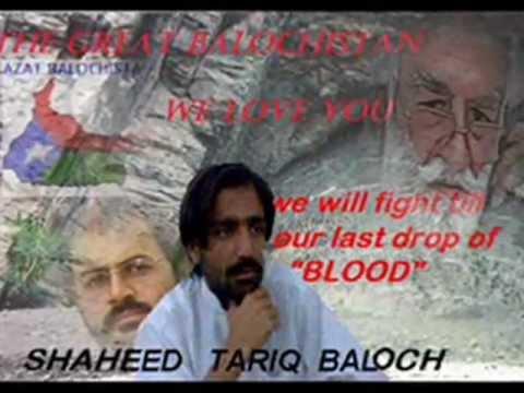 Revolutionary song dedicated to Baloch Gorilla Commander Shaheed Tariq Kareem Baloch