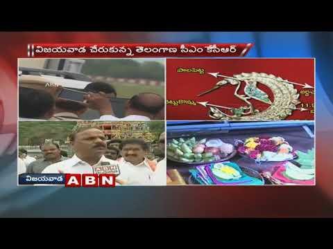 TRS leaders face to face over CM KCR Vijayawada Tour