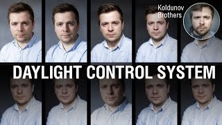 Daylight control system for photography