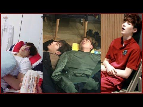 BTS Cute Sleeping Compilation