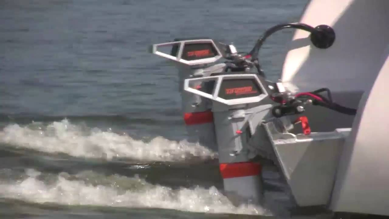 New Electric Boat A 32 Foot Torqeedo Powered Catamaran