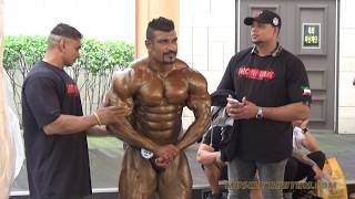 2017 WBPF Asian Bodybuilding Championships Backstage Highlights (Part 2 of 2)