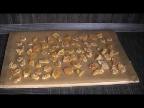 Имбирные конфеты от простуды!
