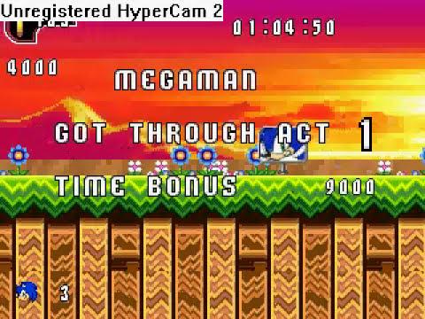 Sonic FGX - ... Megaman?