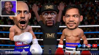 Manny Pacquiao Beats undefeated Keith Thurman 😂
