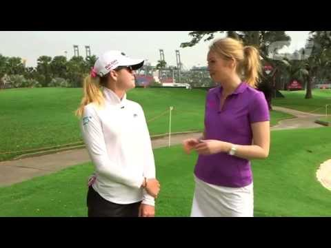 GW Walk The Course: Paula Creamer