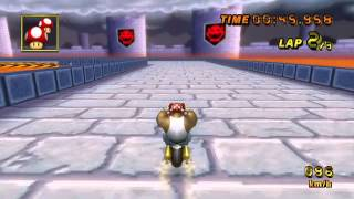 [MKW WR] GBA Bowser Castle 3 (No SC) - 02:17.807