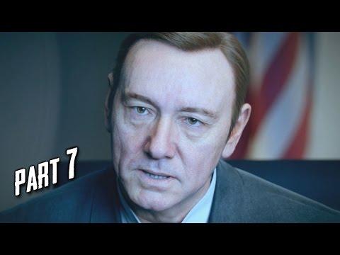 Call of Duty Advanced Warfare Walkthrough Gameplay Part 7 - Manhunt - Campaign Mission 6 (COD AW)