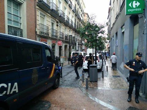 Desalojan el Patio Maravillas, la cuna de los movimientos sociales de Madrid