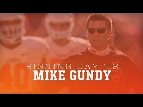Mike Gundy 2013 Signing Day Press Conference