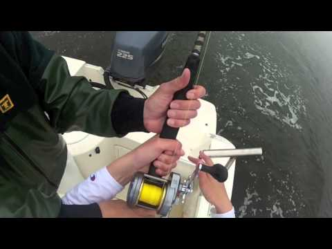 Striped Bass fishing 2012 April 18th Raritan Bay