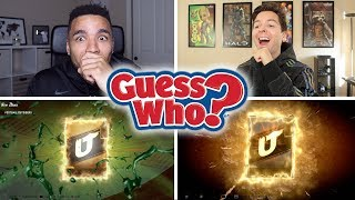 CRAZY GUESS WHO WITH WALKER! MADDEN 20