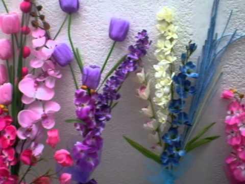 Arreglos florales de fomi con globos - Imagui