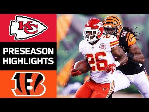 Chiefs Vs Bengals Nfl Preseason Week 2 Game Highlights