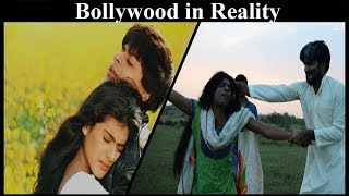 Bollywood in reality spoof   Bollywood vs reality   The Charsiez