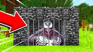Minecraft : We TRAPPED VENOM! (Ps3/Xbox360/PS4/XboxOne/PE/MCPE)