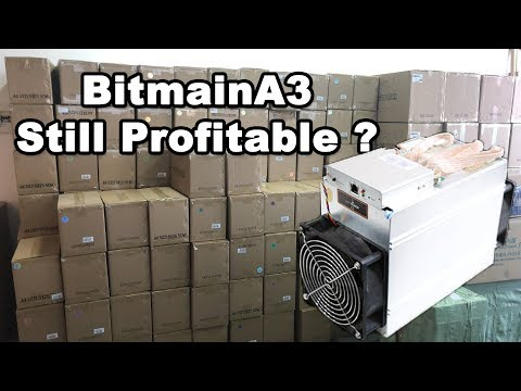 Bitmain A3 Performance Sia Coin Miner still Profitable ?? Difficulty Etherium Mining Rig Still HOT