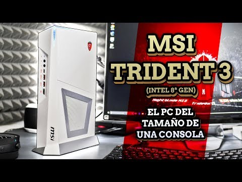 El PC de formato consola más Potente! - Review MSI Trident 3 (Intel 8ª Gen)