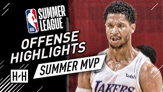 Josh Hart Full Lakers Offense Highlights at 2018 NBA Summer League - MVP!