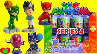 PJ Masks Headquarters Capsules Series 4 RARE Romeo and Gekko
