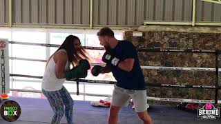 "MJP QUITS DURING SPARRING SESSION WITH BILLY JOE ""NO MAS""  SAUNDERS"