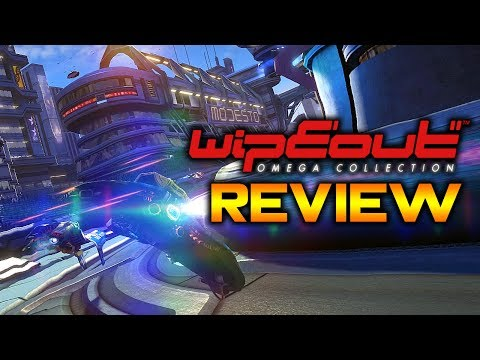 WipEout Omega Collection Review - A PlayStation Classic Returns! | PS4 Pro Gameplay