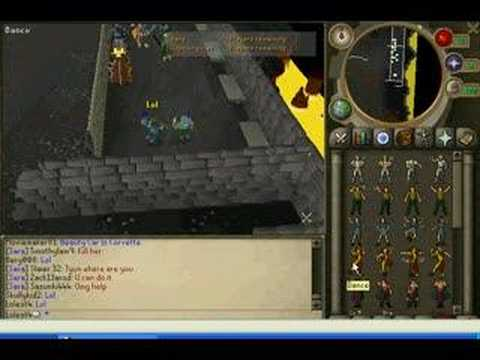 How to get full rune armour by cheating in runescape!