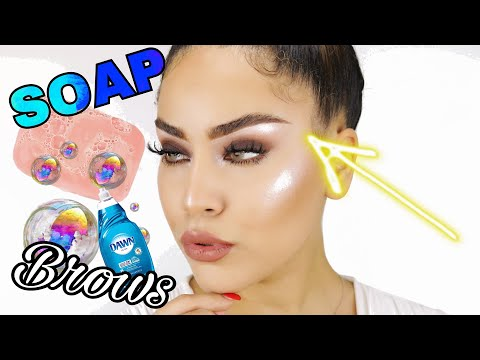 PERFECT SOAP LAYED BROW TUTORIAL | EASY