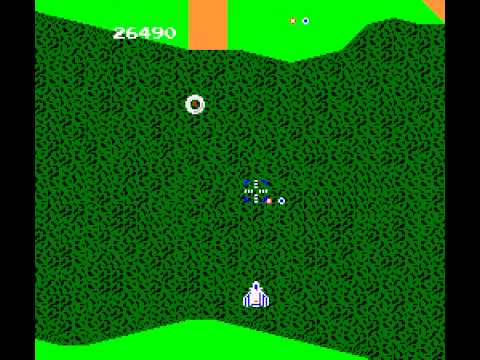 Xevious The Avenger - Xevious (NES) Gameplay - User video