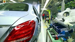 Mercedes C-class w205 production. Plant in Bremen.