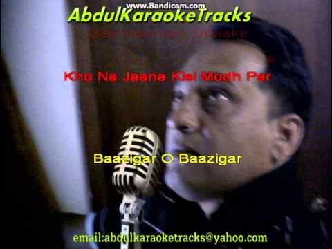 Bazigar O Bazigar karaoke