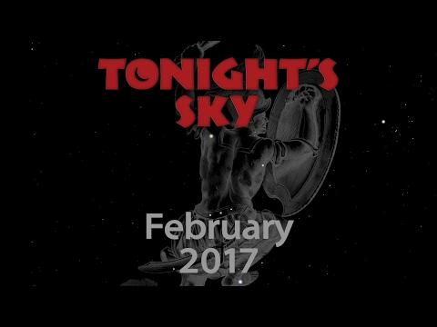 Tonight's Sky: February 2017 (updated)